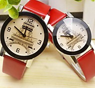 Couple's Korean Fashion Student's And Couple's Quartz Watch(Assorted Colors)