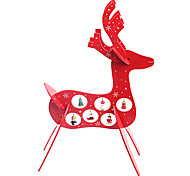 Christmas Wooden Deer Furnishing Articles Gifts
