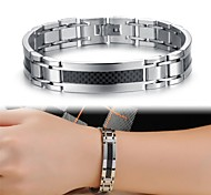 Cool Man Texture Titanium Steel Bracelet Jewelry