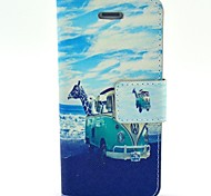 The Sea Animal Pattern PU Leather Full Body Case with Card Slot and Stand for iPhone 4/4S
