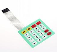 4x5 Matrix Array 20 Key Membrane Switch Keypad SCM extended keyboard(1pcs)