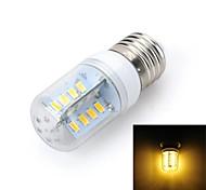marsing® e27 dessin de la croix 5W 500lm 32 x SMD 5730 lampe ampoule LED de lumière blanche chaude / froide (220V)