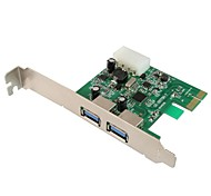 maiwo KC001 2port usb 3.0 pci express card para o desktop
