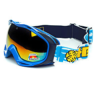 hb protección marco azul polarizado gafas de nieve