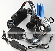 Lights Headlamps / Bike Lights LED 4000,5000,5300 Lumens 4 Mode Cree XM-L T6 / Cree XM-L U2 18650 Waterproof / Rechargeable