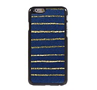 Blue Stripes Design Aluminium Hard Case for iPhone 6