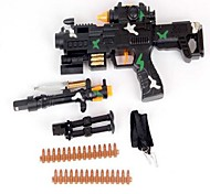 les jouets électriques bouchon pistolet enfants