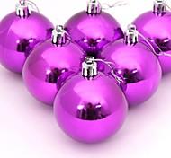 bolas de natal decoração da árvore de Natal de plástico