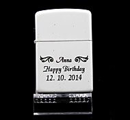 Personalized  Wing White Oil Lighter