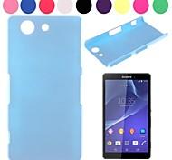Pure Color Non-Slip Design Hard Case for Sony Xperia Z3 Mini(M55w)(Assorted Colors)