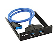maiwo kc010 2port USB3.0 Frontpanel