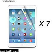 [7-pack] Protector de pantalla anti-reflejo prima de alta calidad para los Mini iPad 3