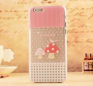 dermatoglyph muster pc soft cover für iphone 6