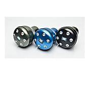 botão elegante mudança de velocidade do carro liga de alumínio (preto, cinza, azul)