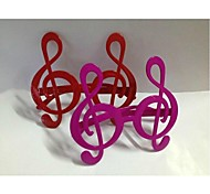 Musical Note Shape Glasses for Party/Fans(Random Color)