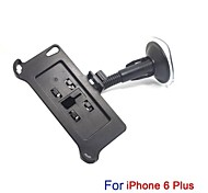 In Car Swivel Mount Holder Dock Bracket Set for 5.5 Inch Apple IPhone 6 Plus with Foot-Rest