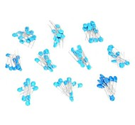 2-Pin Ceramic Capacitors Set - Blue (100 PCS)
