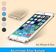 Metal Protective Aluminum Alloy Bumper Frame Case for iPhone 6 Plus(Assorted Colors)