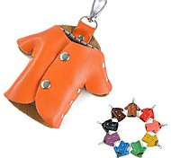 Creative Korean Style Dermis Coat Keychain Bag(Assorted Colors)