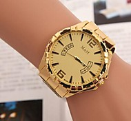 Women's Fashion Leisure Swiss Double Circle Alloy Steel Belt Watch
