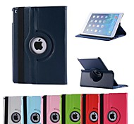 Natusun™ 360 Degree Rotating Litchi Pattern Covered Full Body Case for iPad Air 2