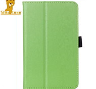 "Shy Bear™ PU Leather Cover Stand Case for Lenovo A7-50 A3500 7"" Inch Tablet"