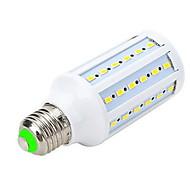 Focos LED / Bombillas LED de Globo / Bombillas LED de Mazorca Marsing T E26/E27 12W 60 SMD 5730 1000-1200 LM Blanco Cálido AC 100-240 V