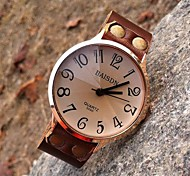 Women's High-grade Retro Personalized Leather Quartz Movement Watches
