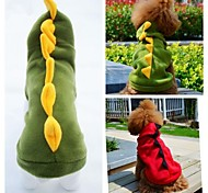 Lovely Dinosaur Costume For Pet Dogs(Assorted Colours,Sizes))