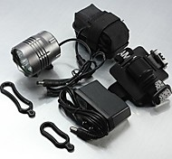 LT-071  3Mode  5XCREE XM-L T6 LED HeadLamp (6800LM.4X18650.Grey)
