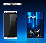 0.33mm protector de pantalla anti huella digital de ultra mate para un htc / M7