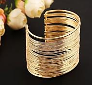 моды металлические Браслет-манжета (золото&Серебряный)