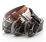 cinturones de cintura cinturón de cuero de los hombres de negocios para hombre