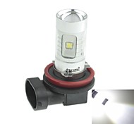 H11  PGJ192 30W 6xCREE Cold White 2100LM 6500K for Car Fog Light (AC/DC12V-24)
