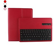 Premium Litchi Grain PU Leather Case with Bluetooth Keyboard for iPad Air 2 (Assorted Colors)