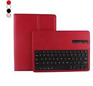 grano litchi prima pu estuche de cuero con teclado bluetooth para aire ipad 2 (colores surtidos)
