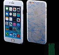 Fashion Scratches Style Green Luminous Design Plastics Cover for iPhone 6