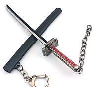 Bleach Ichigo Kurosaki Black & Red Key Chain Cosplay Accessories