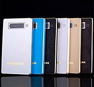 6000mah súper delgado banco de la energía las baterías de polímero universal para iphone 6.6 más / 5 / 5s / samsung s4 / s5 / Nota 3 (colores