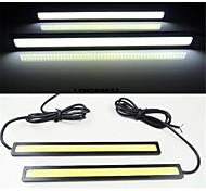 2pcs 17cm 6w 600-700lm Tagfahrlicht gelbe Farbe Hochleistungskolben TFL wasserdicht ip68 Tageslicht (12 V)