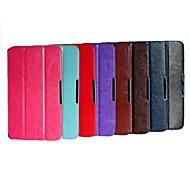 Custodia in pelle tripla modello pieghevole di alta qualità 8,3 pollici per lg g tablet 8.3 (V500) (colori assortiti)