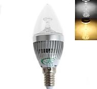 E14 Luci LED a candela C35 15 SMD 2835 450 lm Bianco caldo / Luce fredda Decorativo AC 220-240 V