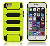 The Piano and The Tank Armor 2-in-1 Mobile Phone Shell for iPhone 6 Plus(Assorted Colors)