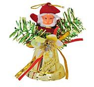 Papai Noel que soa pingente de sino enfeites de natal
