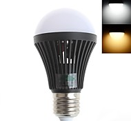 5W E26/E27 LED Globe Bulbs A60(A19) 16 SMD 5730 450 lm Warm White / Cool White Decorative AC 220-240 V