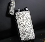 Hen Bang Pulse Arc Cigarette  USB Charging Cigar Lighter -Rich Flowers (More Color)