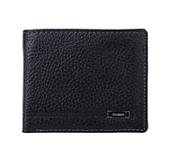 AA226WO1 High Quality Men's Cowhide Genuine Leather More Screens Wallet