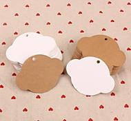 Accessori decorativi - di Carta - Bianco/Marrone