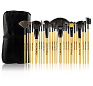 MAKE-UP FOR YOU 24 PCS Professional Cosmetic Makeup Brushes Set