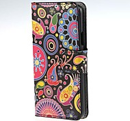For Samsung Galaxy Case Card Holder / with Stand / Flip / Pattern / Magnetic Case Full Body Case Cartoon PU Leather Samsung A3
